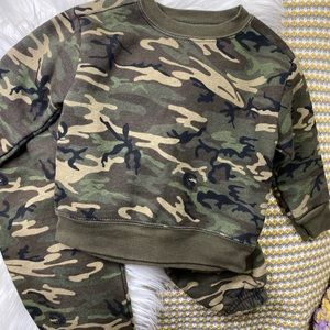 Athletic Works Camo Set Green 18 months
